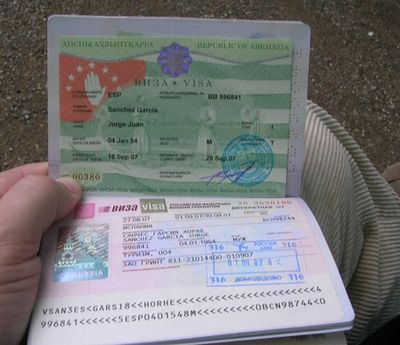 виза в Абхазию