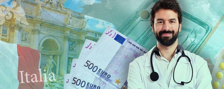 зарплата врача в Италии