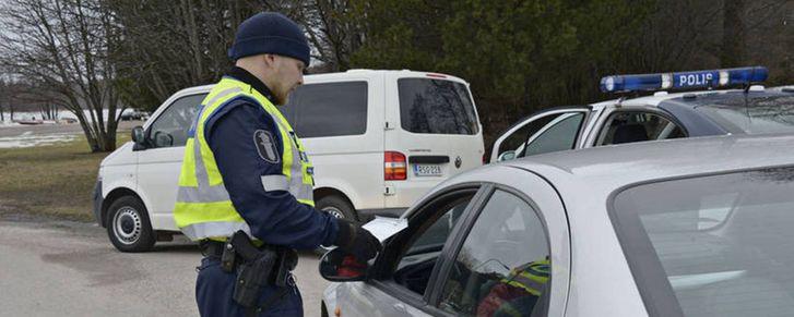 назначение штрафа в Финляндии