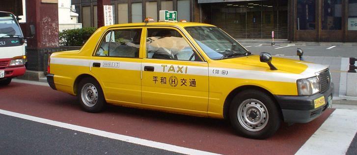 такси в Японии