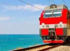 за границу на поезде