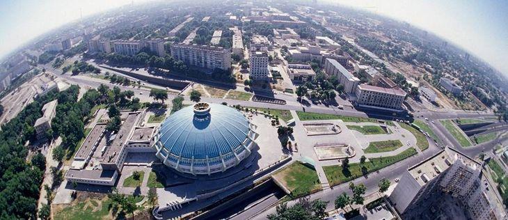 глобус Ташкента