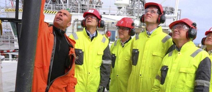 работа нефтяником в Норвегии