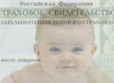 СНИЛС на ребенка
