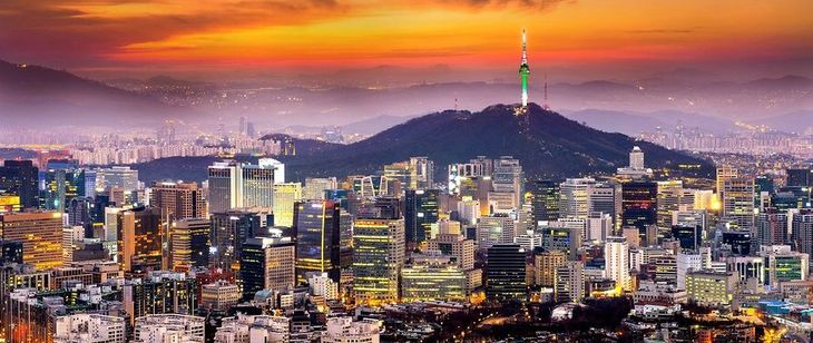 Южная Корея без визы