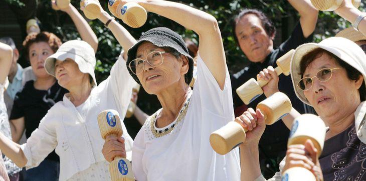 как живут пенсионеры в Японии