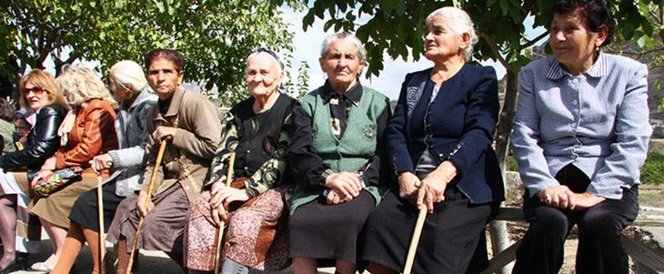 пенсионеры в Армении