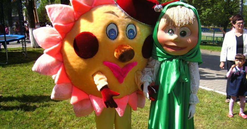 пошив ростовых кукол