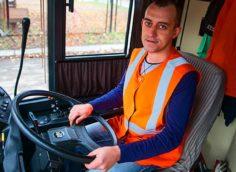 зарплата водителя троллейбуса